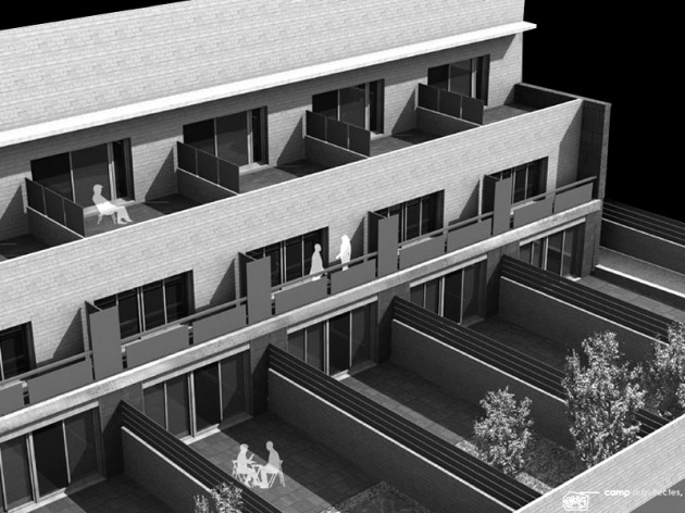 HOUSING PROJECT (8 DWELLINGS), L'HOSPITALET DE LLOBREGAT – camp arquitectes