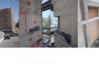 Reparació de façanes i cobertes d'un edifici de 48 habitatges, Barcelona